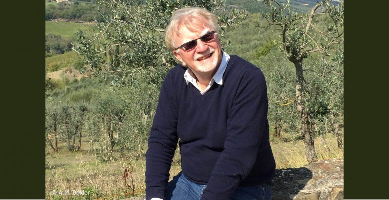Richard Barrett beim Werte-Workshop in der Toscana